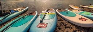 SUP Boards zum aufblasen im Test
